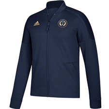 Adidas MLS Philadelphia Union Anthem Full Zip ZNE Jacket (Navy)