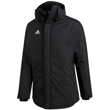 Adidas Stadium Parka 18 (Black/White)