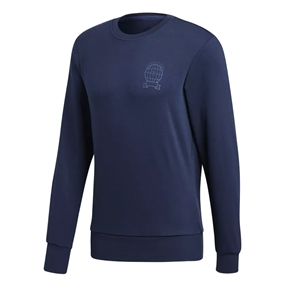 Adidas Manchester United Graphic Sweatshirt (Collegiate Navy)