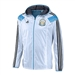 Adidas Argentina Woven Anthem Jacket (White/Argentina Blue/Black)