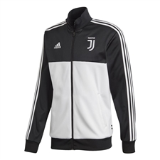Adidas Juventus 3 Stripes Track Jacket (Black/White)