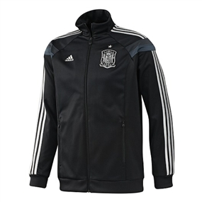 Adidas FEF Spain Track Top (Black/Dark Shale/Dark Onyx)