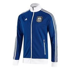 Adidas AFA Argentina Track Top (Collegiate Royal/White)
