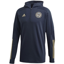 Adidas Philadelphia Union Travel Jacket 2020 (Navy/White)