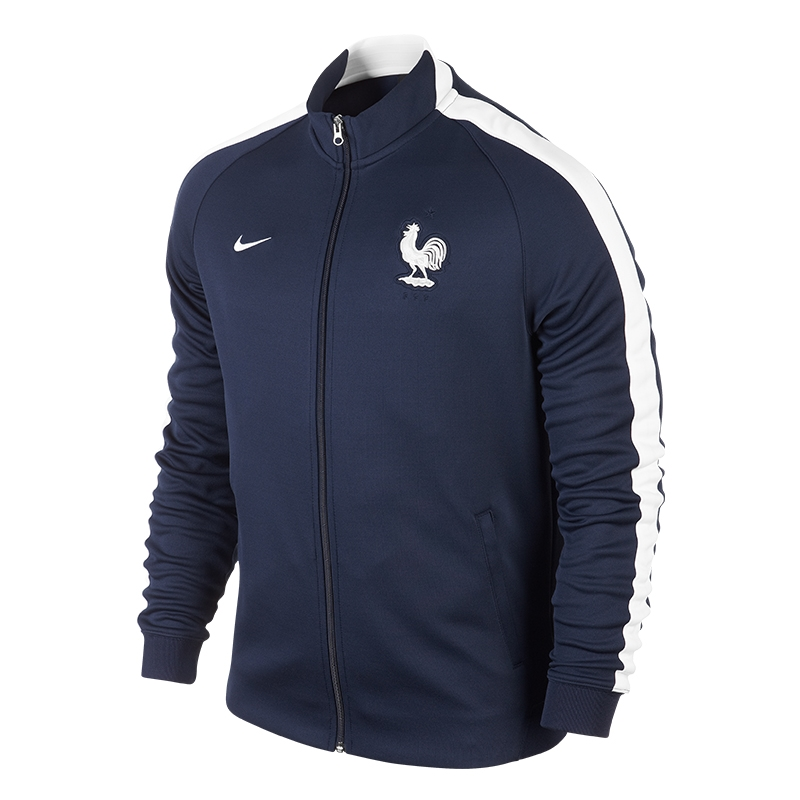 taille 40 c379c a1c32 Nike France N98 Authentic Track Jacket (Midnight Navy)