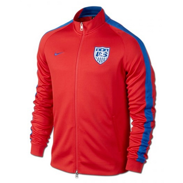 Nike USA N98 Authentic Track Jacket (University Red/Game Royal)