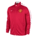 Nike Manchester United 2014 Authentic N98 Training Soccer Jacket (Diabo Red/White)