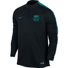 Nike FC Barcelona Drill Top (Black/Energy)