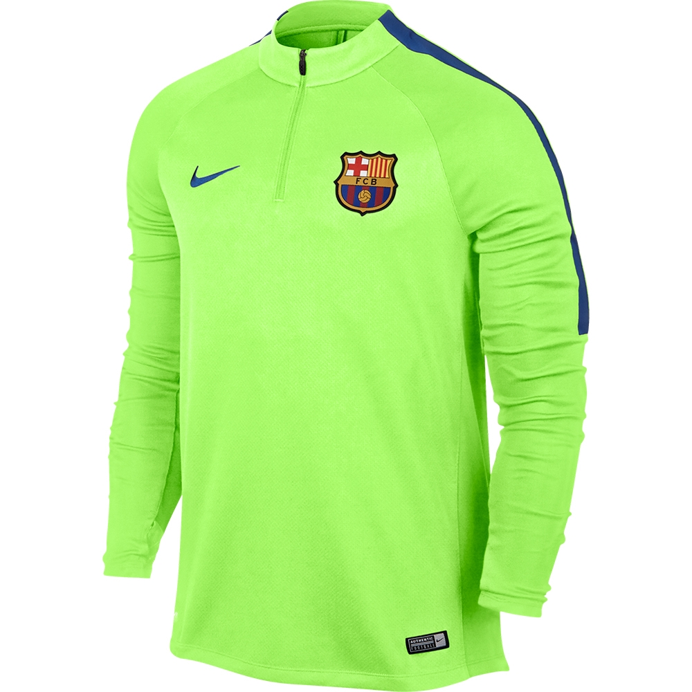 Nike FC Barcelona Drill Top (Ghost Green Game Royal)  c8842af592fe5