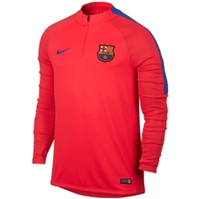 Nike FC Barcelona Drill Top (Bright Crimson/Game Royal)