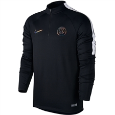 Nike Paris St.Germain Drill Top (Black/White)