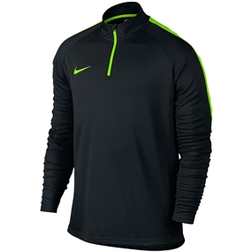 Nike Dry Academy 1/4 Zip Drill Top (Black/Electric Green)