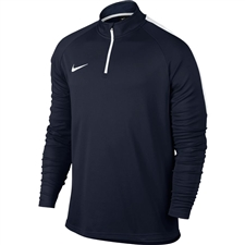Nike Dry Academy 1/4 Zip Drill Top (Obsidian/White)