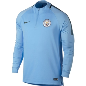 Nike Manchester City FC Squad Drill Top (Field Blue/Outdoor Green)