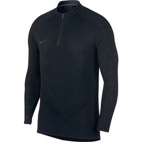 Nike VaporKnit Strike Drill Top (Black)