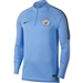 Nike Manchester City FC Squad Jacket (Field Blue/Dark Obsidian)