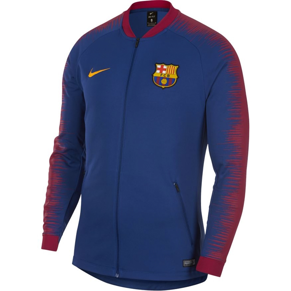 393975a33 Nike FC Barcelona Anthem Jacket (Deep Royal Blue/University Gold ...