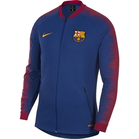 Nike FC Barcelona Anthem Jacket (Deep Royal Blue/University Gold)