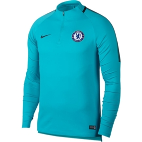 Nike Chelsea FC Squad Drill Top (Omega Blue/Anthracite)