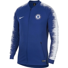 Nike Chelsea FC Full Zip Anthem Jacket (Rush Blue/White)