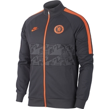 Nike Chelsea FC Jacket (Anthracite/Rush Orange)