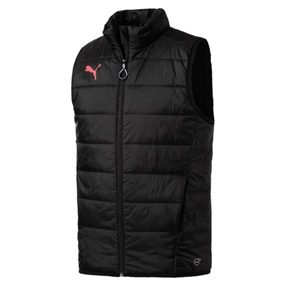 Puma evoTRG Winter Vest (Puma Black/Fiery Coral)