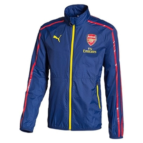 Puma Arsenal Anthem Jacket (Estate Blue/Empire Yellow)