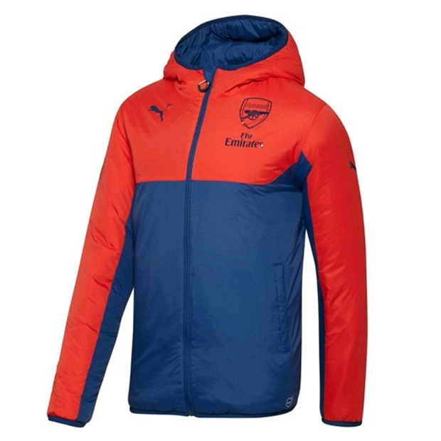 26be9a1735a SALE  79.95 - Puma Arsenal Reversible Soccer Jacket (High Risk Red ...