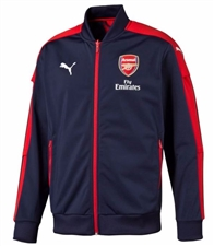 Puma Arsenal AFC Stadium Jacket (Peacoat/High Risk Red)