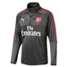 Puma Arsenal 1/4 Zip Training Top (Dark Shadow)