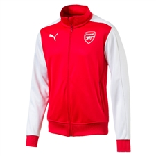 Puma Arsenal T7 Jacket (High Risk Red)