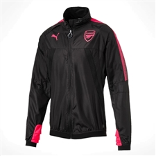 Puma Arsenal Stadium Jacket (Puma Black/Bright Plasma)