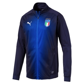 Puma Italy Stadium Jacket (Peacoat/Team Power Blue)