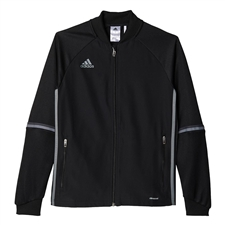 Adidas Youth Condivo 16 Training Jacket (Black/Vista Grey)