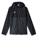 Adidas Youth Tiro 17 Rain Jacket (Black/Dark Grey/White)
