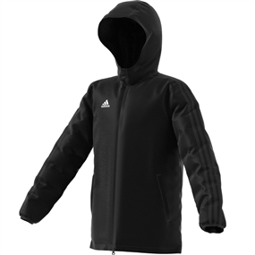 Adidas Youth Winter Jacket 18 (Black/White)