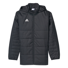 Adidas Youth Tiro 17 Winter Jacket (Black/White)