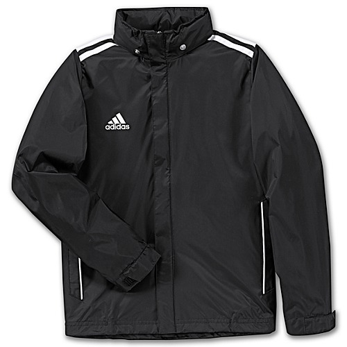 Core Rain Jacketblackwhite 11 Adidas Youth 7bgYf6y