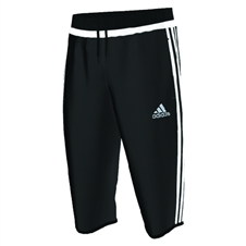 Adidas Tiro 15 3/4 Training Pants (Black/White)