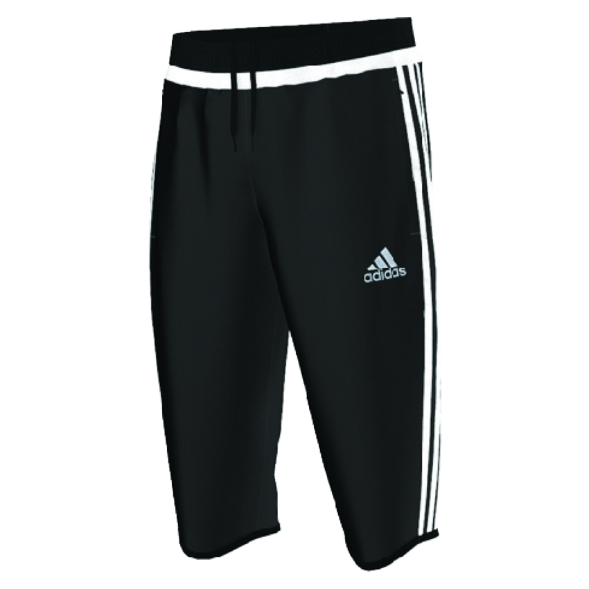 40.49 - Adidas Tiro 15 3 4 Training Pants (Black White)  6ede5cd297e5