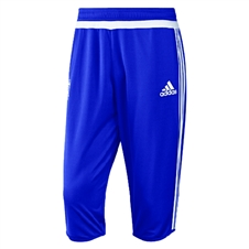 Adidas Men's Chelsea 2015-16 3/4 Training Pant (Chelsea Blue/White)