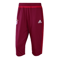 Adidas Men's FC Bayern Munich 2015 3/4 Training Pant (Craft Red)