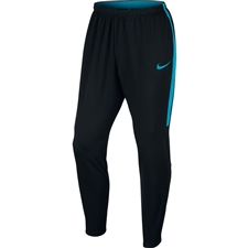Nike Dry Academy Soccer Pants (Black/Light Blue Fury)