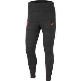 Nike Chelsea FC Fleece Pants (Anthracite/Dark Grey/Rush Orange)
