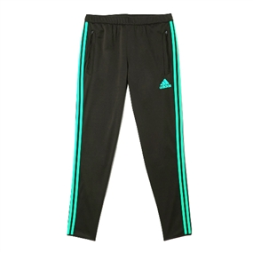 Adidas Women's Tiro 13 Color-Pack Training Pants (Black/Vivid Mint)