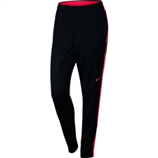 Nike Women's Academy Soccer Pants (Black/Siren Red)