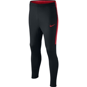 Nike Youth Dry Academy Soccer Pants (Black/University Red)