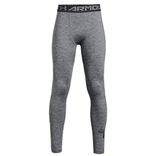 Under Armour Youth ColdGear Leggings (Black/Graphite)