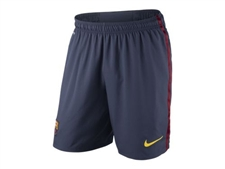 Nike FC Barcelona Home '12-'13 Replica Soccer Shorts (Midnight Navy/Storm Red/Tour Yellow)