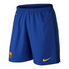 Nike FC Barcelona Home/Away '15-'16 GK Soccer Shorts (Bright Blue/Loyal Blue/University Gold)